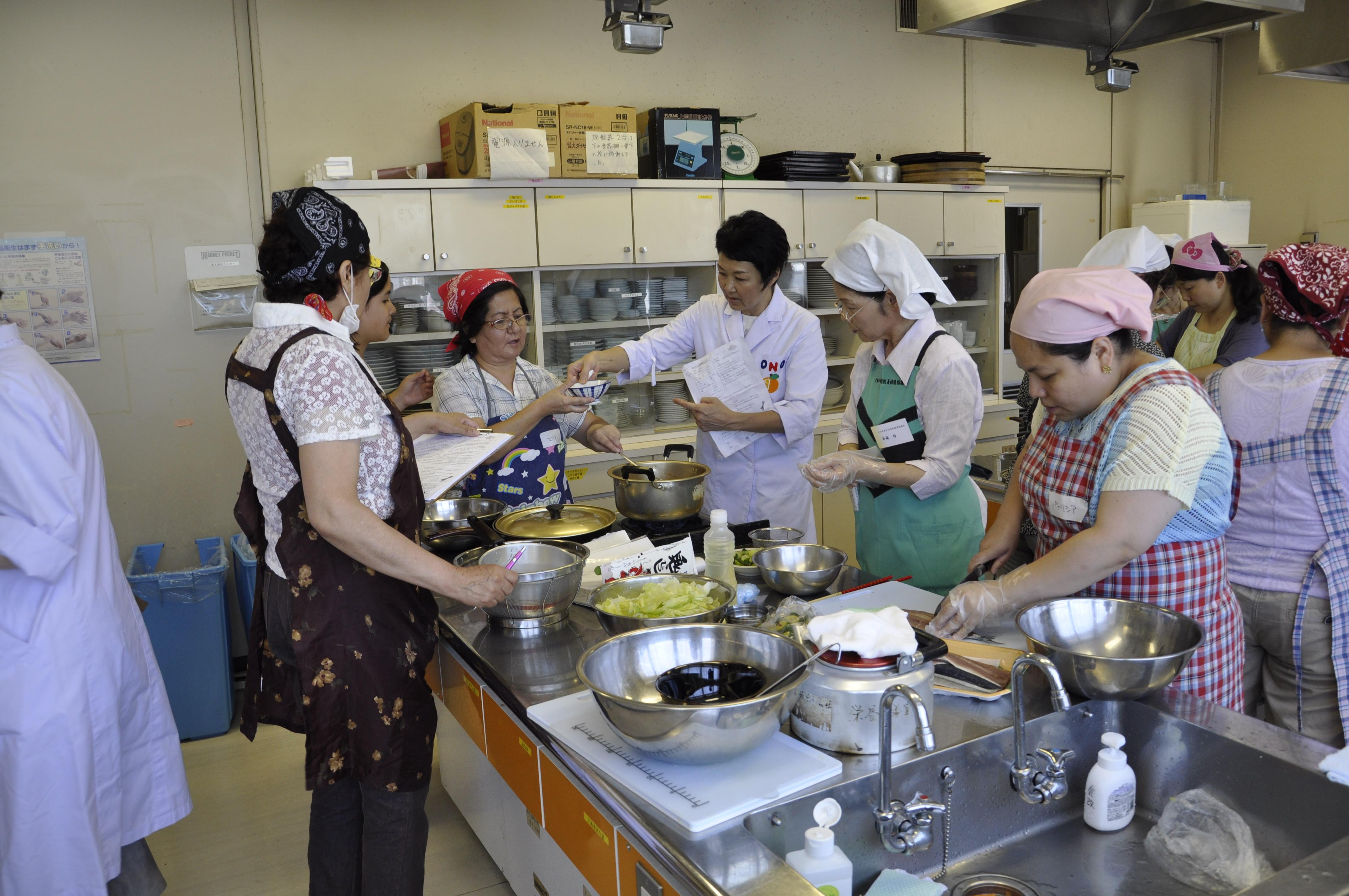 健康セミナー料理教室編
